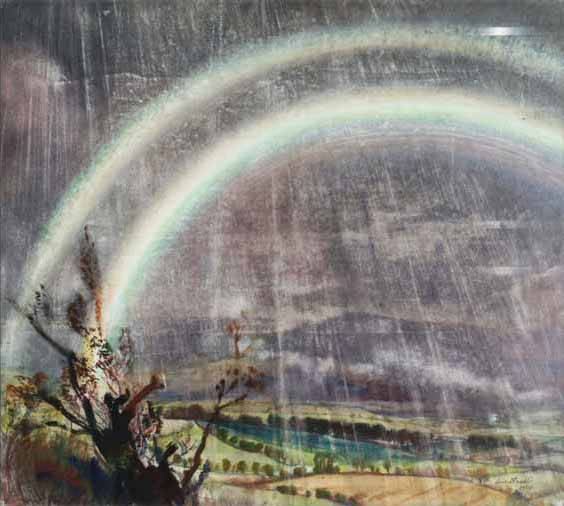 Signification Reves arc en ciel Laura Knight