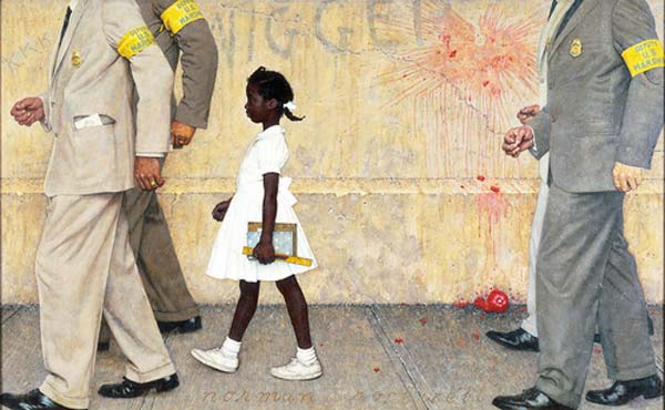 arrestation norman rockwell
