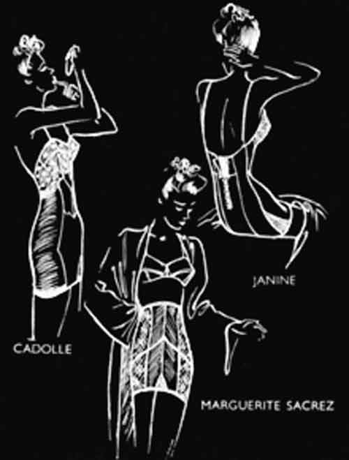 Signification Reves gaine 1938-vogue