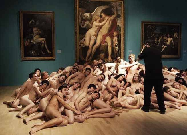 Signification Reve nudite Spencer Tunick