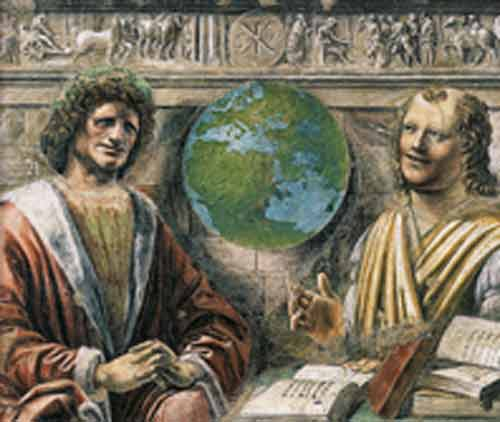 Signification Reves terre Donato-Bramante-1495